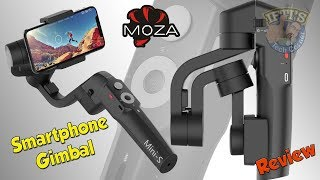 Moza Mini-S : Foldable & Compact Smartphone Gimbal! - Review & Sample Footage