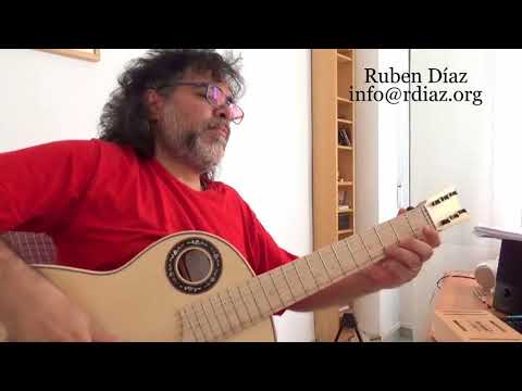 Ear training (22 Symmetric scale) in modern flamenco guitar /Learn Paco de Lucia´s Style/Ruben Diaz