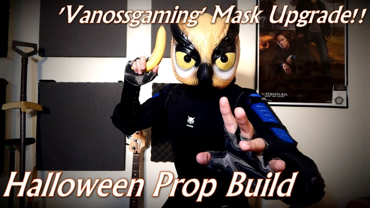 'Vanossgaming' Mask Upgrade!! | Prop Build (Halloween Special)