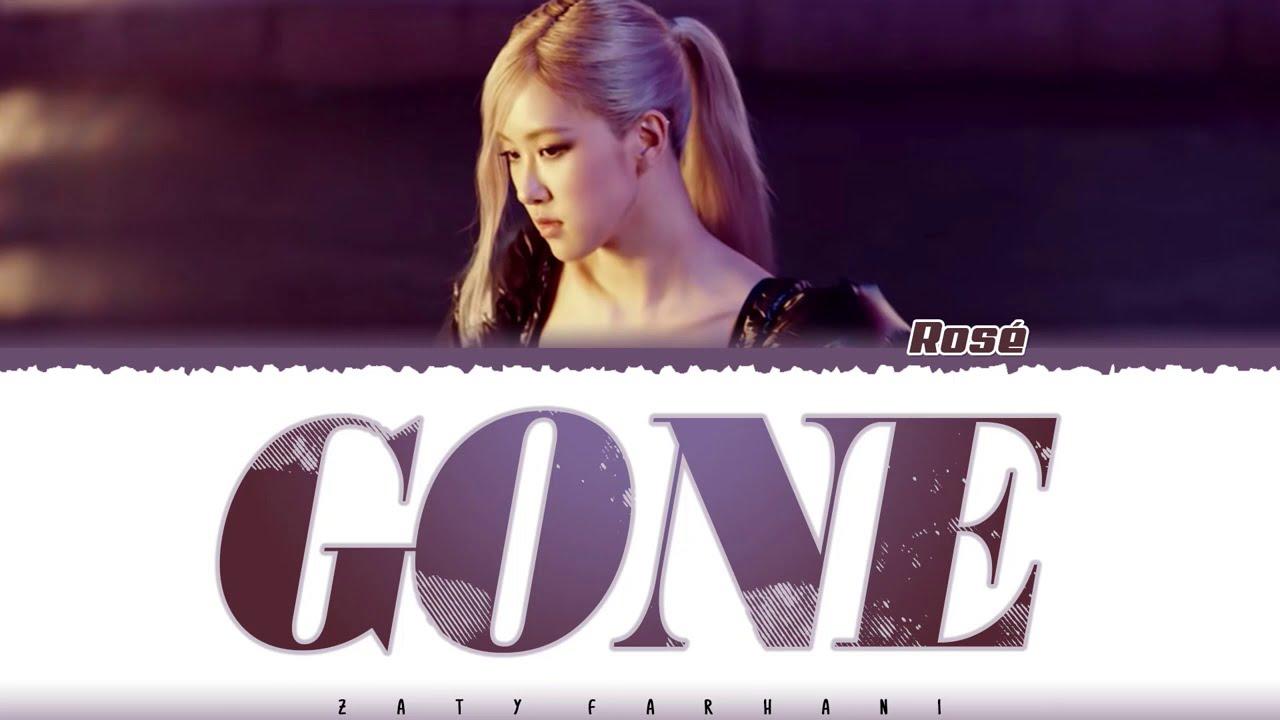 Download ROSÉ - 'GONE' Lyrics [Color Coded_Eng]