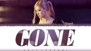 Download ✨ROSÉ - 'GONE' Lyrics [Color Coded_Eng]