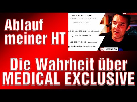 ( 13 ) Haartransplantation Medical Exclusiv Türkei Die Wahrheit! 7 Monate nach Operation