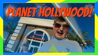 PLANET HOLLYWOOD AT DISNEY SPRINGS REIMAGINED! REVIEW!