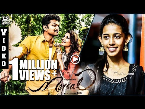 Mersal - Neethanae | Vijay, Samantha Romantic Song - Priyanka Version | Galatta Exclusive