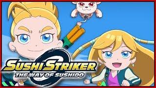 2ND INTRO OPENING MOVIE! Sushi Striker The Way of Sushido Switch Demo Gameplay - DarkLightBros MP3