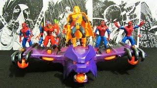 Hobgoblin Wing Bomber (Человек-Паук 1994) Распаковка и обзор фигурок (игрушек)