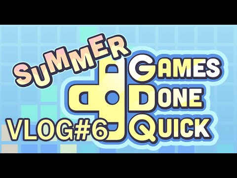 Summer Games Done Quick 2015 Vlog Part 6 Youtube