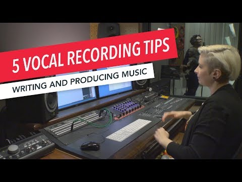 Studio Techniques: 5 Tips for Recording Vocals in Pro Tools