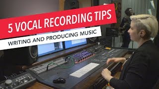 Studio Techniques 5 Tips for Recording Vocals in Pro Tools Writing and Producing Music