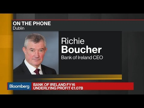 Bank of Ireland CEO Says Will See Some Brexit Benefit