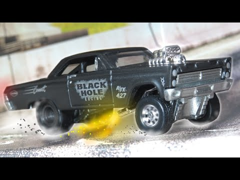 Hot Wheels '65 Mercury Comet Cyclone - Black Hole Racing - Premium Collector Set (2020)