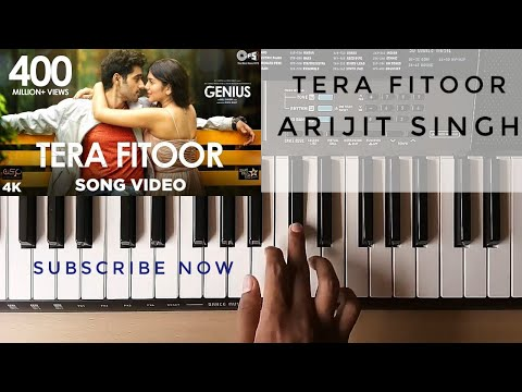 Tera Fitoor Piano Cover | Genius | Utkarsh Sharma | Arijit Singh |