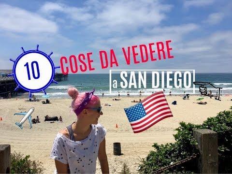 10 COSE DA VEDERE A SAN DIEGO | vlog #clicalifornia