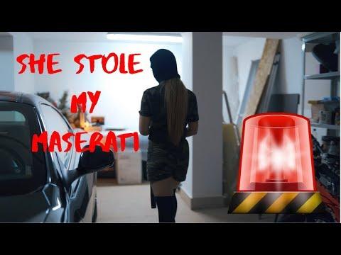 SHE STOLE MY MASERATI!   Test and Review of Maserati Gran Turismo S