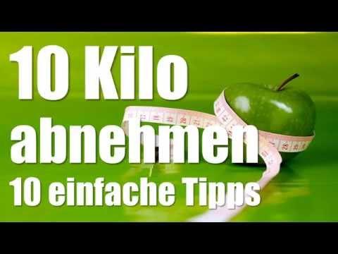 Schnell abnehmen in einer Woche - 10 Kilo abnehmen mit diesen 10 Tipps