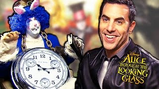 ALICE Through The Looking Glass - Funny Interview With Sacha Baron Cohen & James Bobin