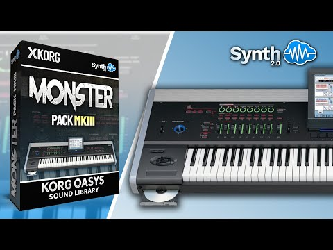 Sounds : LDX100 - Monster and Symphony - Korg Kronos