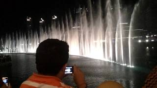 Dubai Dancing Fountain - Whitney Houston - I Will Always Love You