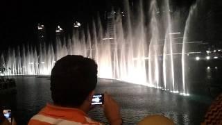 Dubai Dancing Fountain - Whitney Houston - I Will Always Love You
