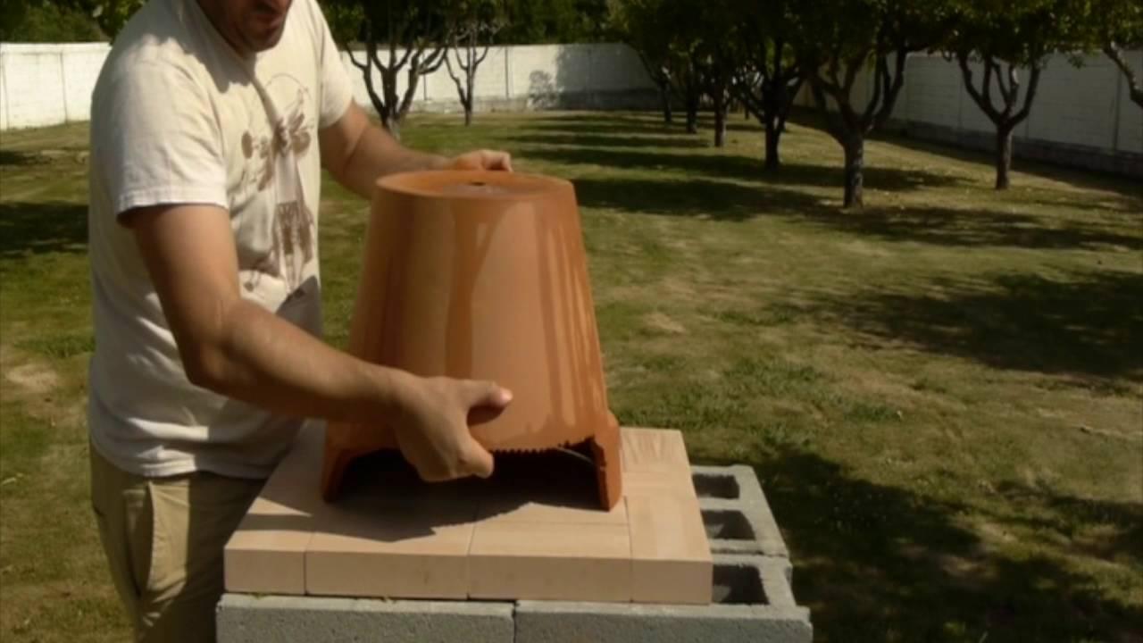 C mo hacer un horno de le a low cost youtube for Como construir un horno