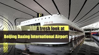 Live: A fresh look at Beijing Daxing International Airport新鲜打卡北京大兴国际机场