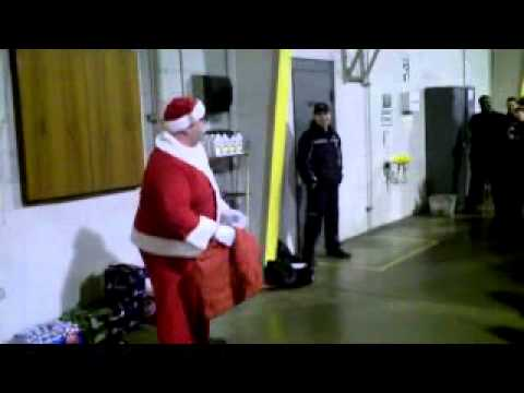 Motivational Speaker Santa Claus (Matt foley) 2011