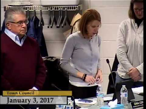 Enfield, CT - Town Council - January 3, 2017