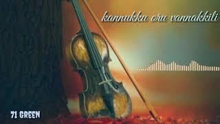 Kannukku oru vannakkili song status