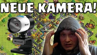 [facecam] NEUE KAMERA! || CLASH OF CLANS || Let's Play CoC [Deutsch/German HD Android iOS PC]