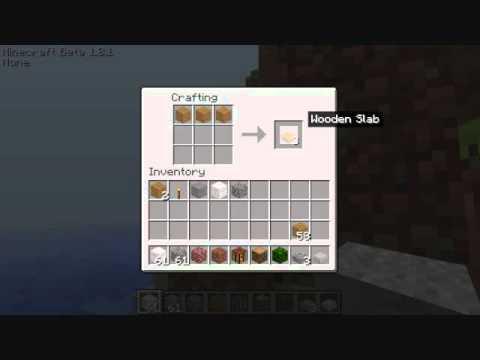 minecraft how to make cobblestone