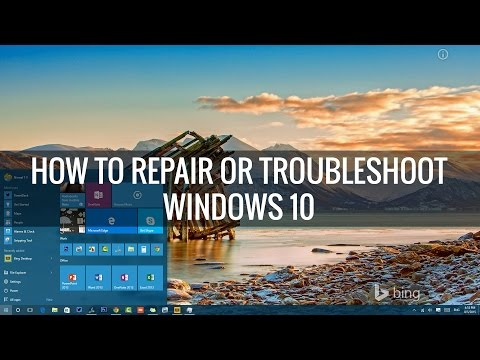 How to Repair or Troubleshoot Windows 10