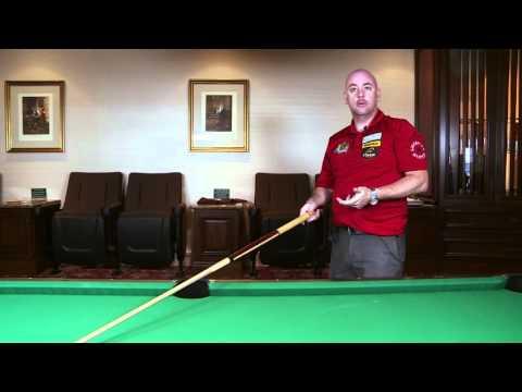 APA Lee Brett Billiard Instruction - Pool Lesson 1 - Sighting & Aiming Tips & Tricks