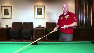 APA Lee Brett Billiard Instruction - Pool Lesson 1 - Sighting & Aiming Tips & Tricks