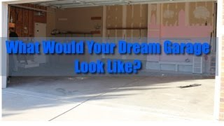 What Would Your Dream Garage Look Like - Setting Up New Space For Videos