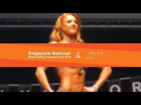 IFBB Singapore Nationals 2018