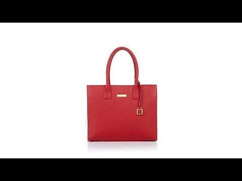 Joy Iman Genuine Leather Hollywood Glamour Handbag