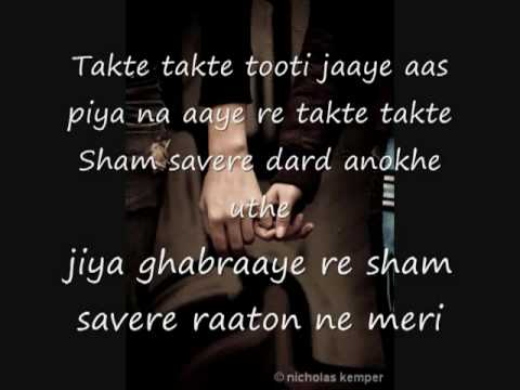 CHANDNI-RAATAIN-Lyrics-Sad...