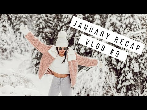 JANUARY RECAP | MICROBLADING, HAIR EXTENSIONS, & SHOPPING!
