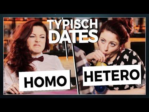 Erstes Date! Typisch Homo vs. typisch Hetero - Tahnee