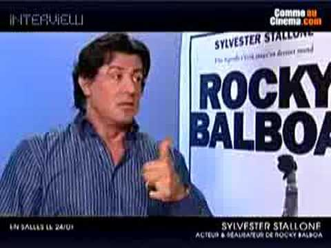 Sylvester Stallone RB Interview