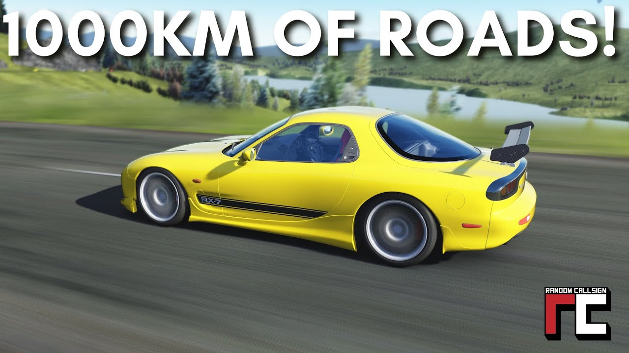 Free Roam mod Forza Horizon for Assetto Corsa
