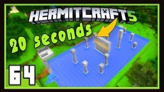 HermitCraft Season 5: Accepting Mumbo's Parkour Challenge!   (Minecraft 1.12)