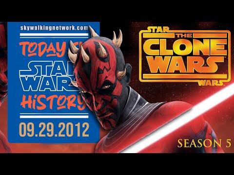 "TODAY IN STAR WARS HISTORY: 9/29/2012 - Star Wars: The Clone Wars Season 5 Premiere ""Revival"""