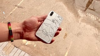 iPhone X Drop Test (prototype)