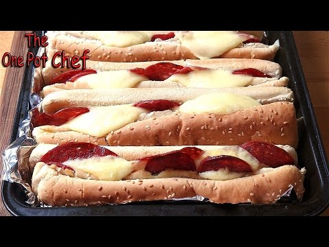 Hot Italian Sandwiches   One Pot Chef