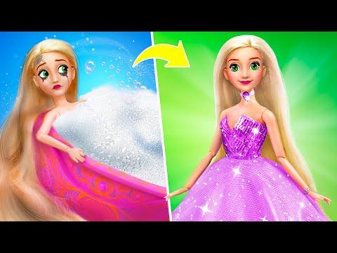 14-diy-barbie-doll-ideas-/-disney-princess-gowns
