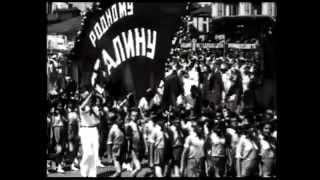 01 Док фильм Сталин и Гитлер, Начало, фильм 1 й 'Кровь на снегу' Россия, история войн