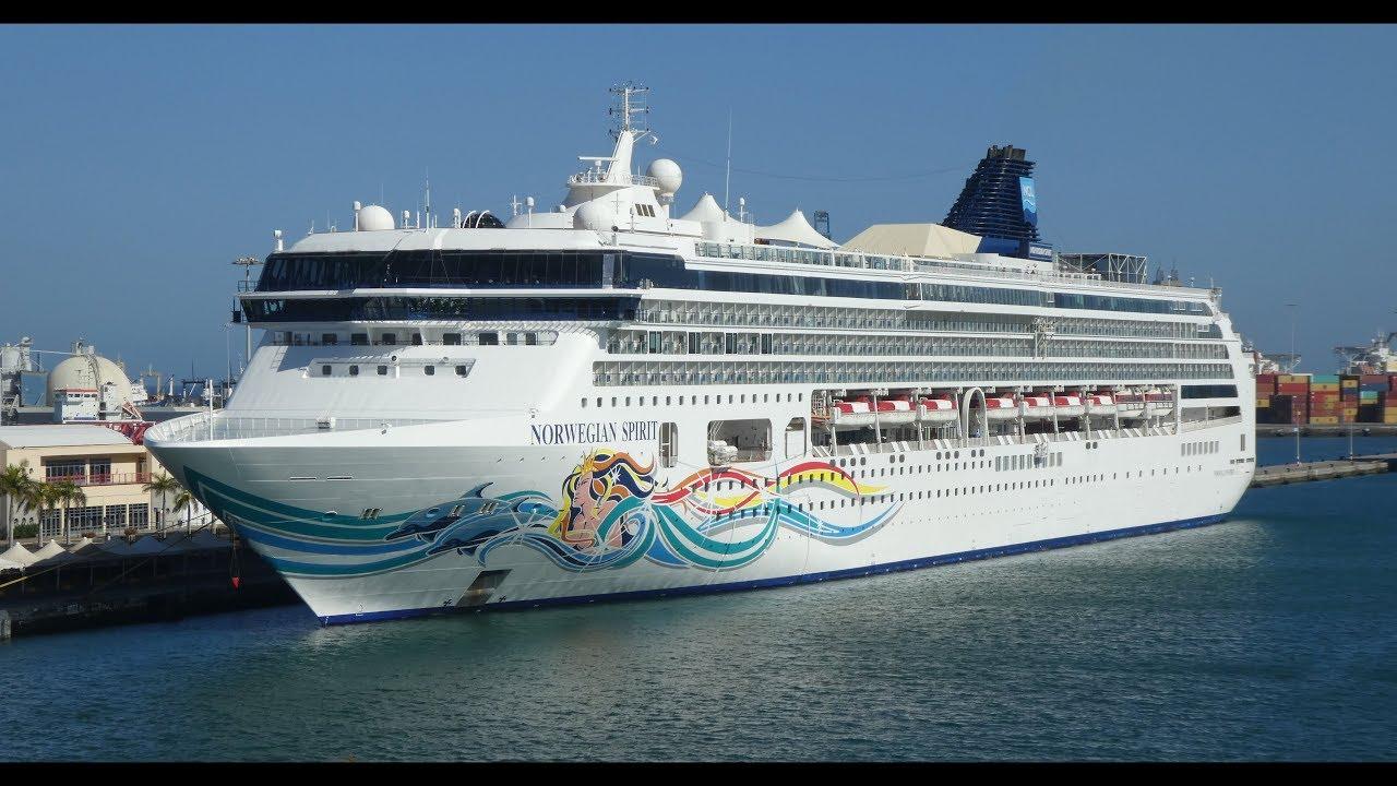 Norwegian Spirit Cruise Ship Inside Views