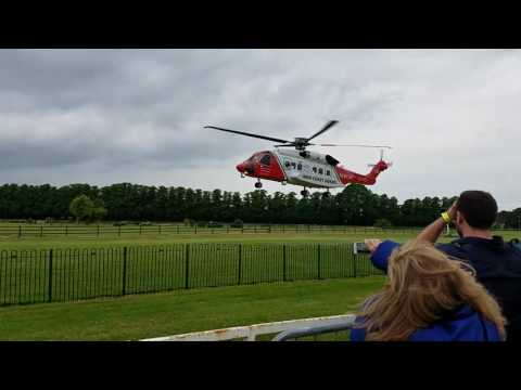 Irish Coast Guard S-92 taking off in Killarney. Thats not a helicopter, its a frigging flying  bus