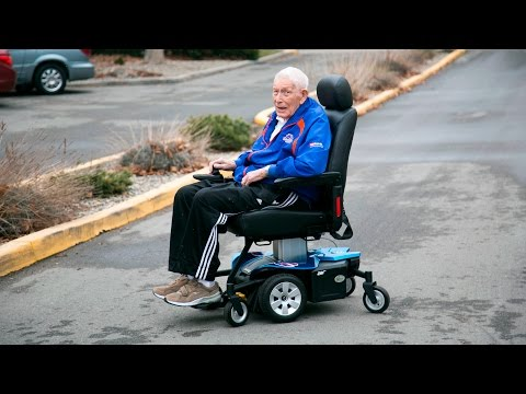 Ex-Boise State Coach Lyle Smith Receives A New Power Chair.